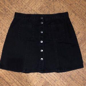 BDG/Forever 21 skirt- corduroy black